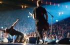 Pearl Jam podczas koncertu w praskie O2 Arena (2 czerwca) | fot. wwwpearljam.com