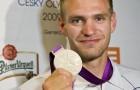 Ondrej Synek zdobył srebrny medal w rywalizacji wioślarskich jedynek | copyright 2012 – Olympic.cz| foto: Václav Murda, ml.
