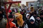 Protest w lutym 2012 roku| fot. www.webnoviny.sk