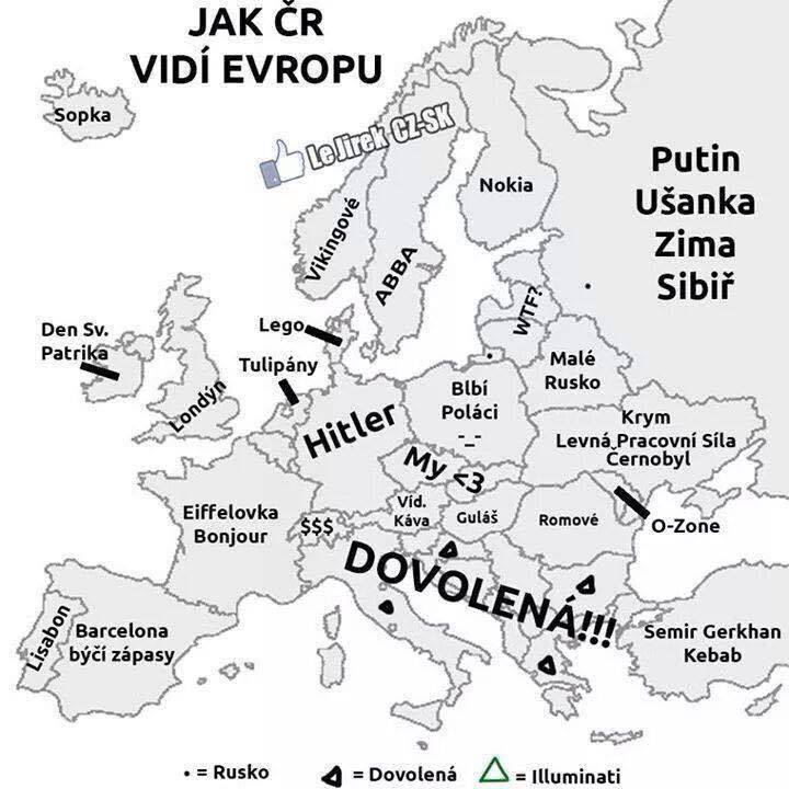 jak Czesi widzą Europę