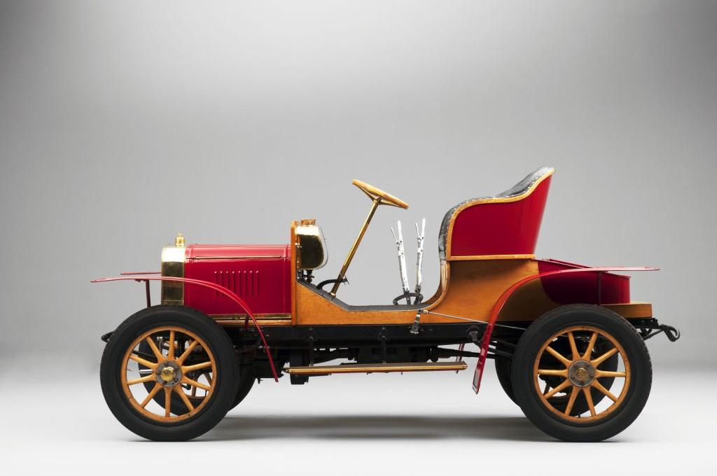 Pierwszy pojazd czterokołowy