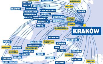 Będą tanie loty z Krakowa do Pragi. Nowe połączenie otwiera Ryanair