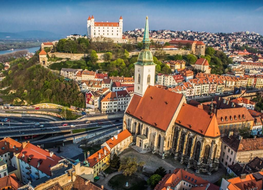Slovakia, Old town_Bratislava