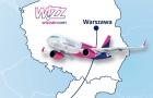 Warszawa-Bratyslawa, nowe polaczenie lotnicze Wizz Air