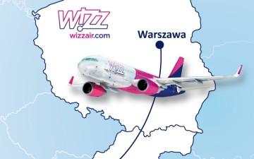 Wizz Air poleci z Warszawy do Bratysławy